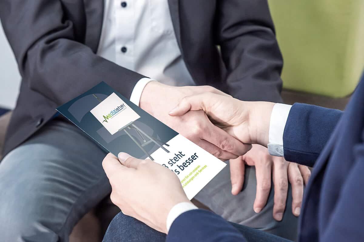 Zusammenarbeit von Kunde und Agentur in Stuttgart und Heilbronn