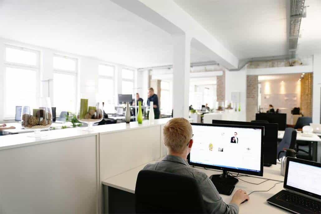 Helle Räume in der auf3 Agentur in Heilbronn