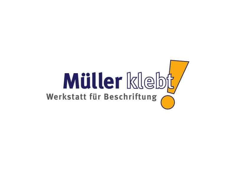 Kunde und Partner Müller klebt!, Leonberg