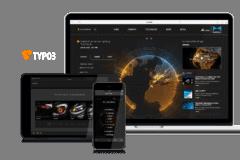 TYPO3 Responsive Webdesign von Marelli Automotive Lighting