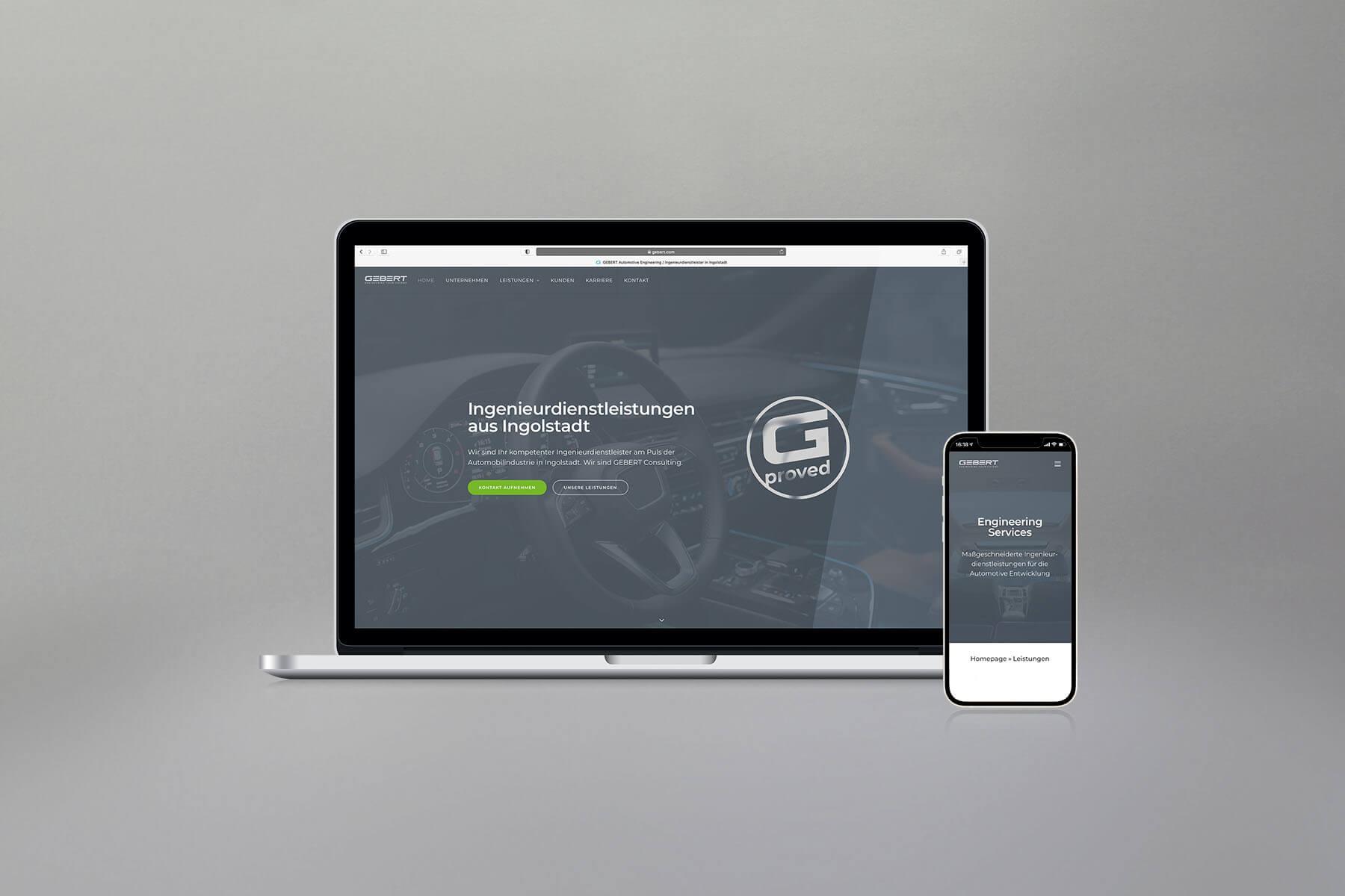 Agentur-Referenzen: Webdesign und WordPress Website für Ingenieurbüro