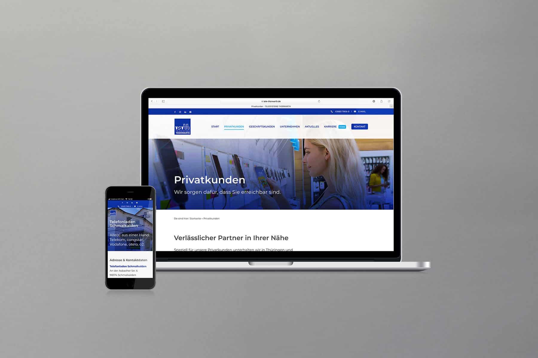 Agentur-Referenzen: Webdesign und WordPress Relaunch für IT-Systemhaus