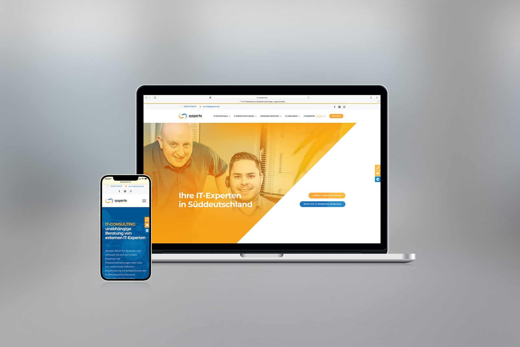 Agentur-Referenzen: Webdesign und WordPress Website für IT-Unternehmen