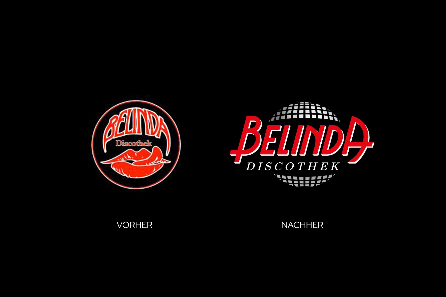 Design Logo Vorher-Nachher-Vergleich