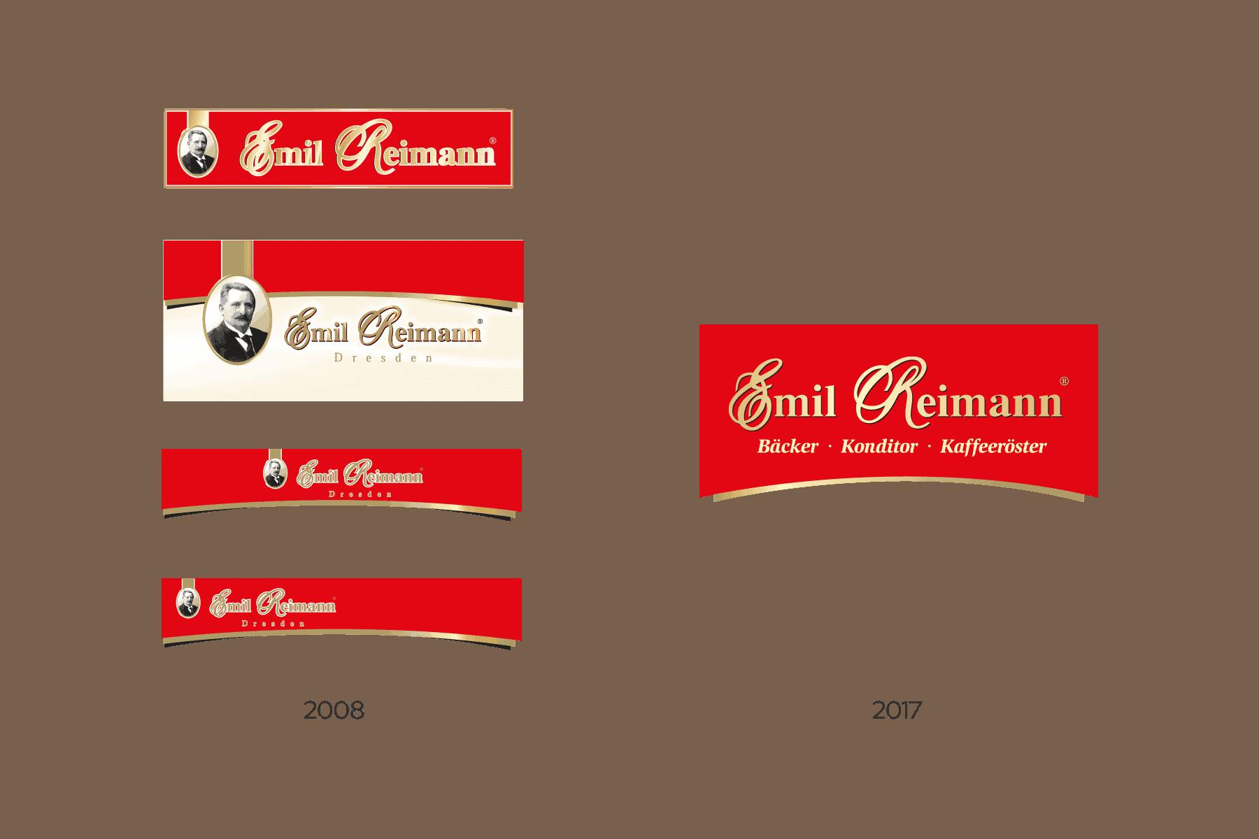 Ein Logo-Design aus mehreren Logos