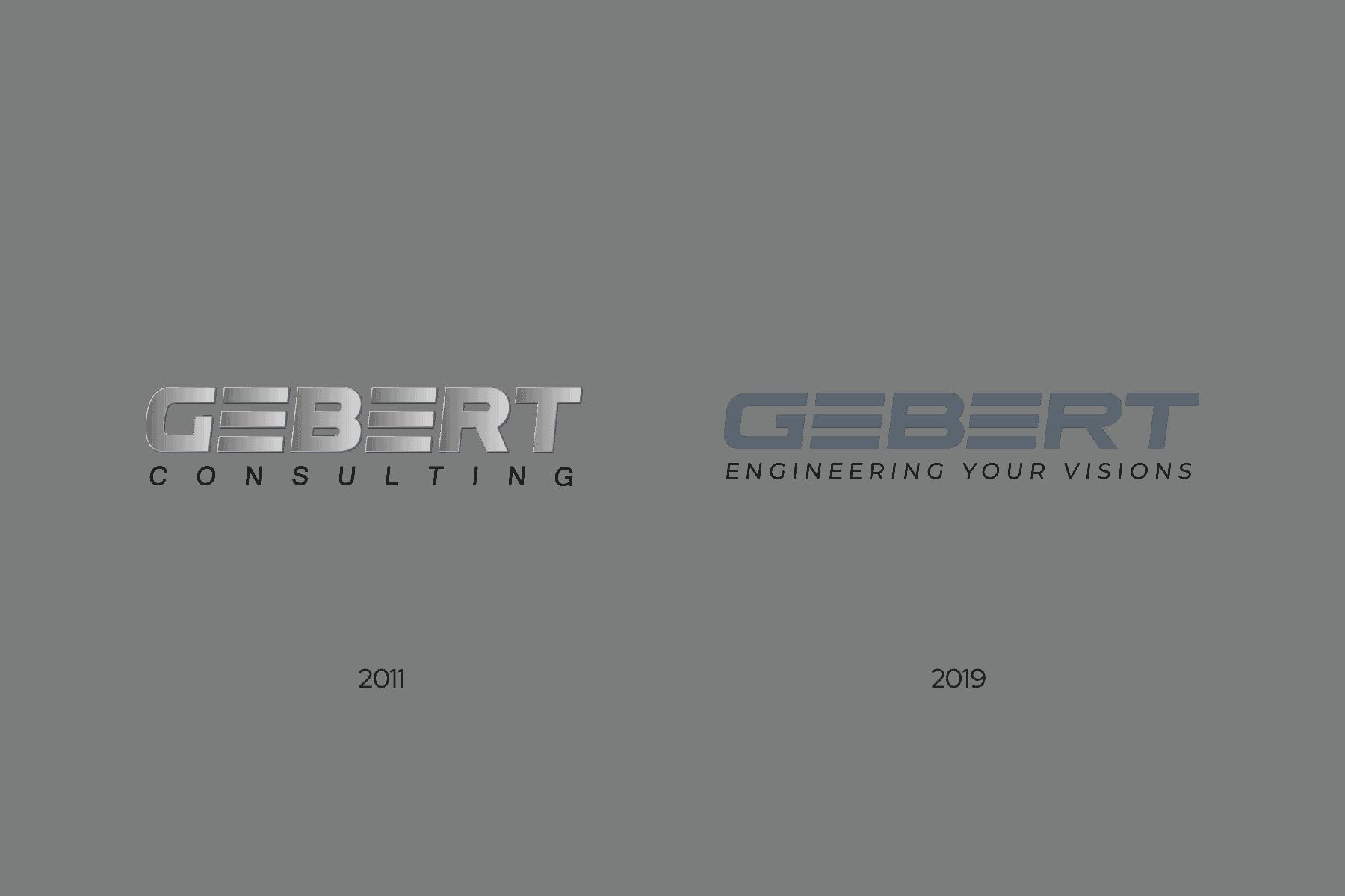 Vergleich Design vorher Logo nachher