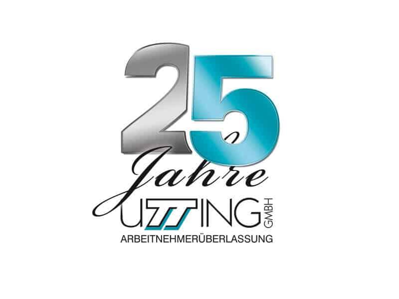 Logo-Design für 25 Jahre Firmenjubiläum