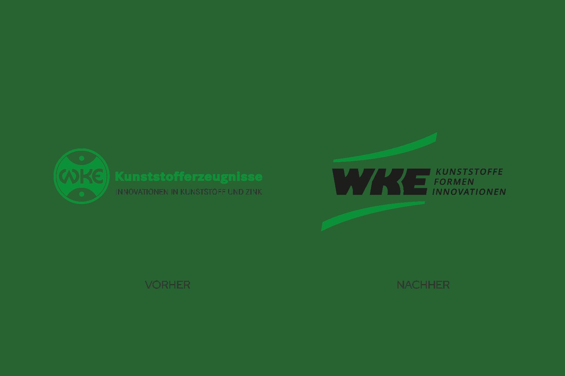 Logo-Redesign Vorher-Nachher-Vergleich