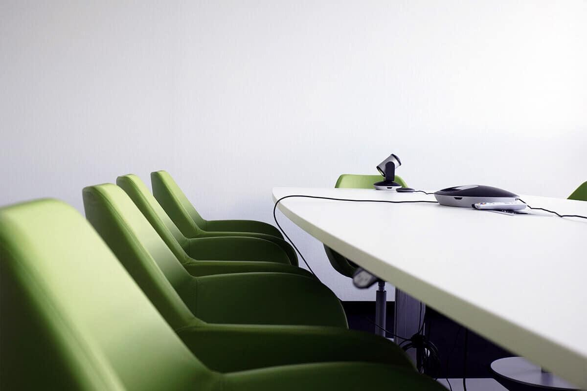 Meeting-Raum der auf3 Agentur in Stuttgart