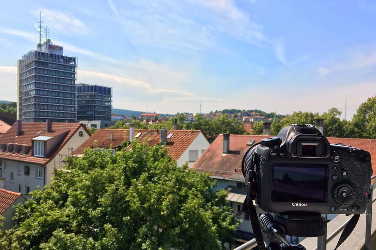 Blick von auf3 Agentur zum Fernsehturm in Stuttgart