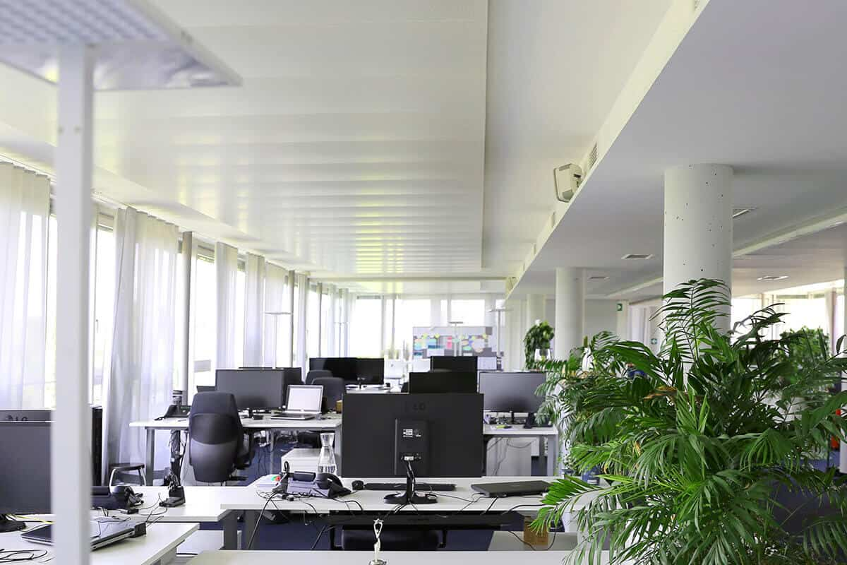 Helle Räume in der auf3 Werbeagentur Stuttgart
