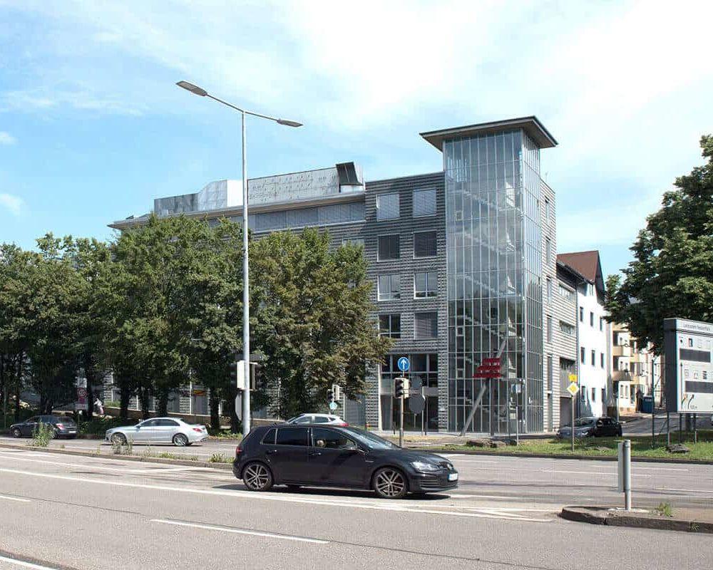 Aussenansicht der auf3 Agentur, Werbeagentur Stuttgart