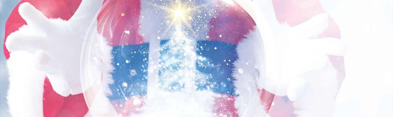 Kreative Grüße zu Weihnachten und Neujahr