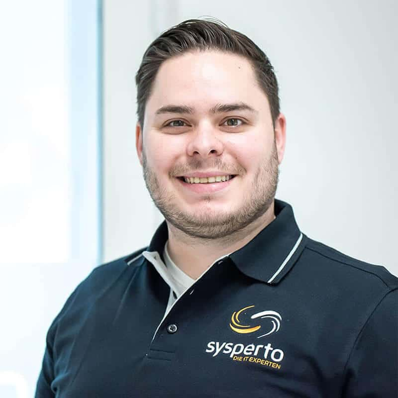 Andreas Zieher, Geschäftsführer der sysperto GmbH