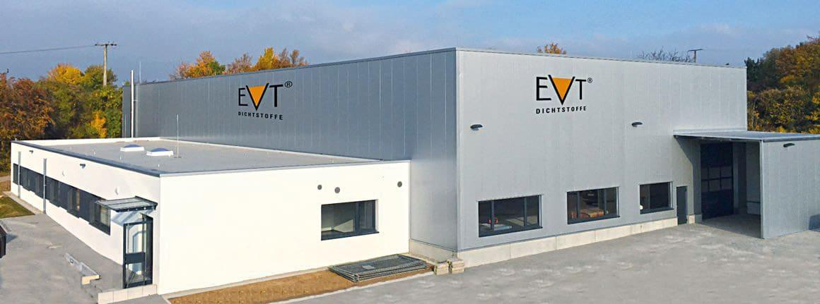Zentrale der EVT Dichtstoffe in Korntal-Münchingen, nahe Stuttgart