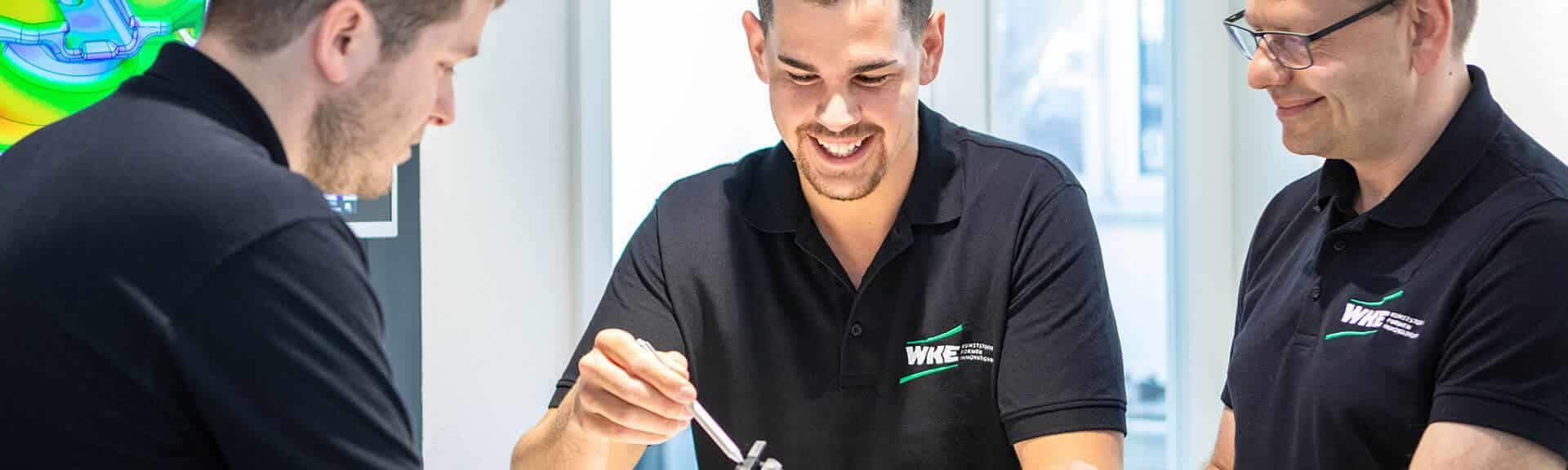 WKE Experten für Kunststoffspritzguss aus Oberstenfeld